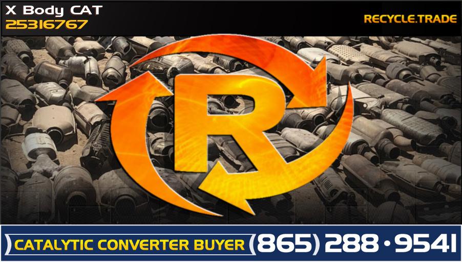 X Body CAT 25316767 Scrap Catalytic Converter