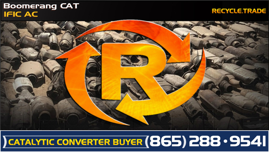 Boomerang CAT 1F1C AC Scrap Catalytic Converter