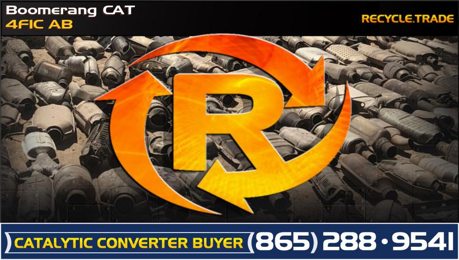 Boomerang CAT 4F1C AB Scrap Catalytic Converter
