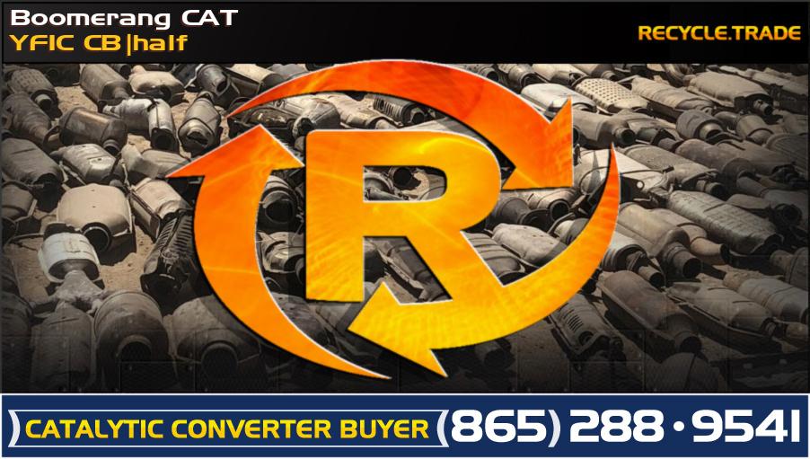 Boomerang CAT YF1C CB half Scrap Catalytic Converter