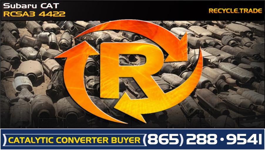 Subaru CAT RCSA3 4422 Scrap Catalytic Converter